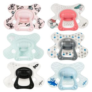 Difrax combi soother with ring 6+ months  - Elodie Details