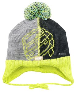 Lenne Knitted hat GARRY Yellow 46 - Lenne
