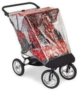 Baby Jogger BJ City Mini raincanopy Double - Baby Jogger