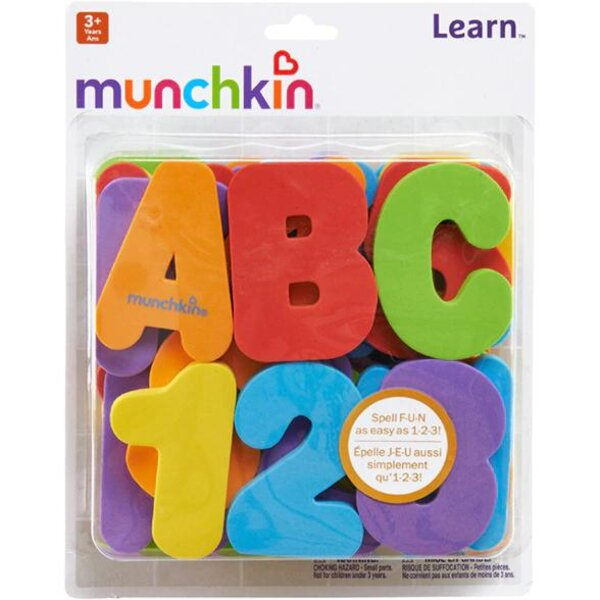 Munchkin Bath Letters&Numbers - Munchkin