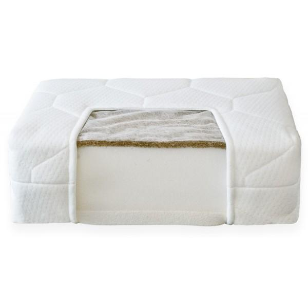 Nordbaby Prestige Mattress with coconut and latex 120x60x12cm - Nordbaby