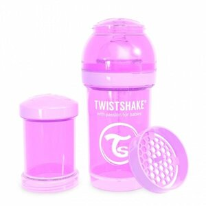Twistshake Anti-Colic 180ml Pastel Purple Purple  - Twistshake