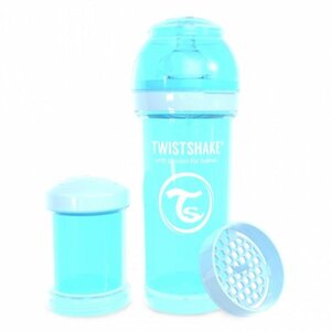 Twistshake Anti-Colic 260ml Pastel Blue Blue  - Twistshake