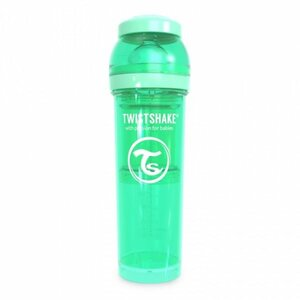Twistshake Anti-Colic 330ml Pastel Green Green  - Twistshake