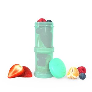 Twistshake Container 2x 100ml Pastel Green Green  - Done by Deer