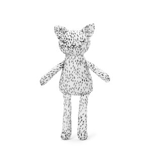 Elodie Details Snuggle - Dots of Fauna Kitty White/grey One Size - Elodie Details