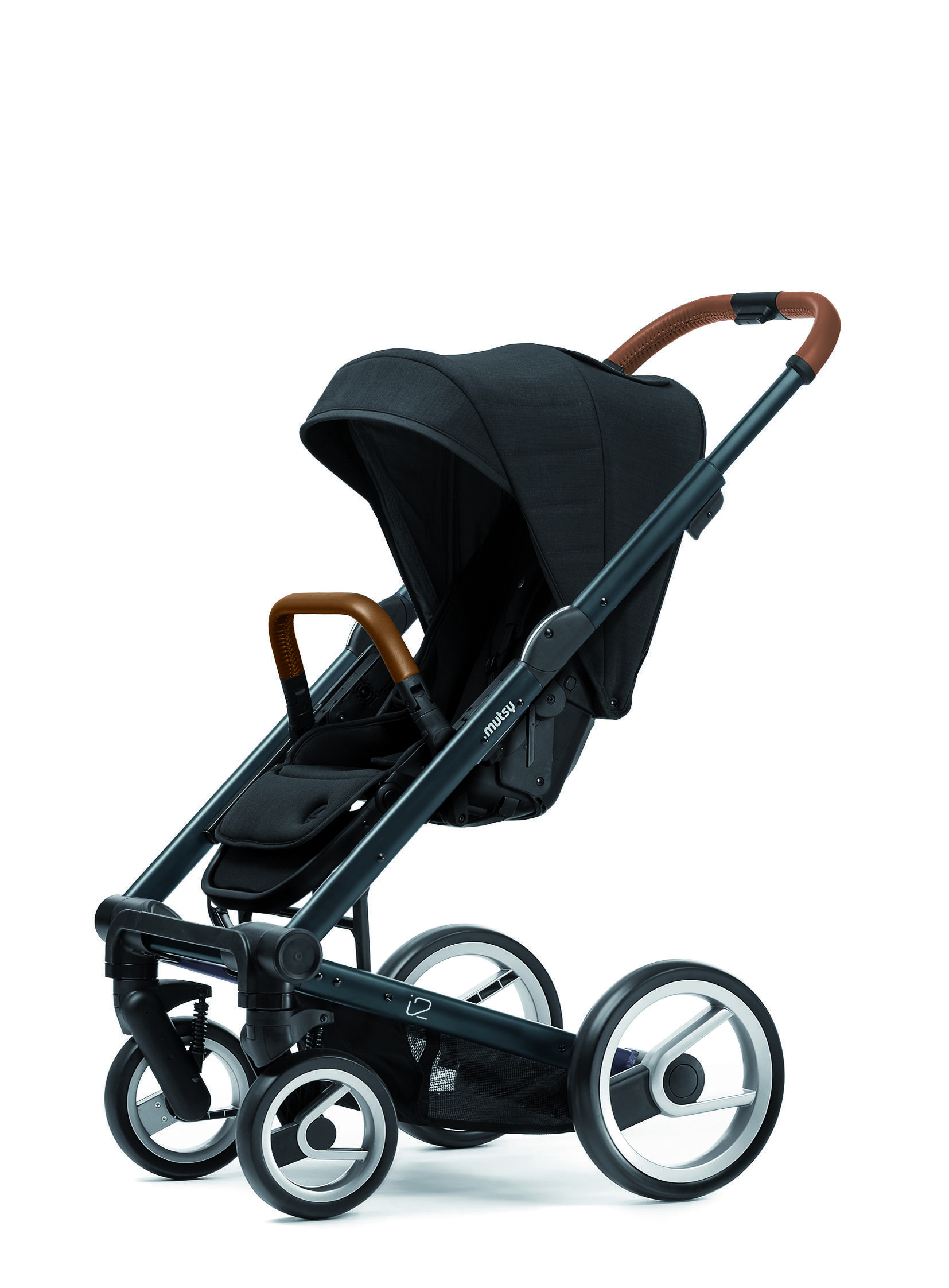 Mutsy SEAT+CANOPY I2 HERITAGE BLACK - Mutsy