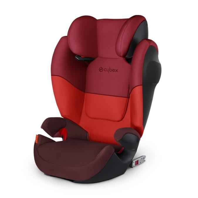 Cybex Solution M-Fix SL 15-36kg turvatool Rumba Red - Cybex