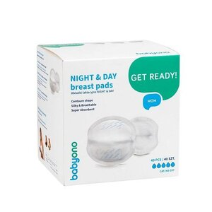 BabyOno 297- Breast pads Night & Day, 40 pcs - BabyOno