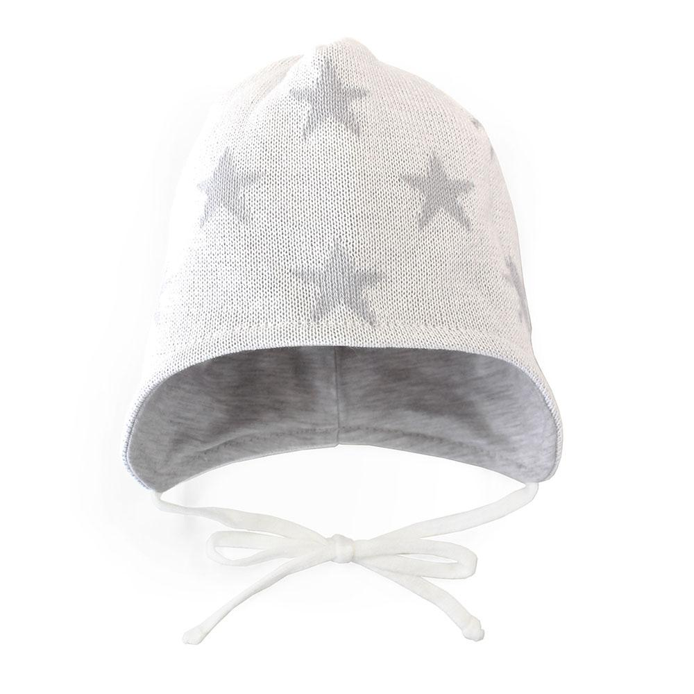 Nordbaby Knitted Baby Hat Star White - Nordbaby