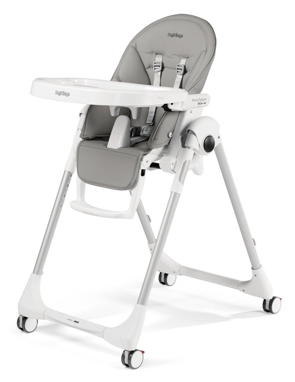 Peg-Perego Highchair Prima Pappa Follow Me Ice - Peg-Perego
