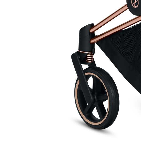 Cybex Priam Frame Rose Gold + Seat Hardpart-Cybex