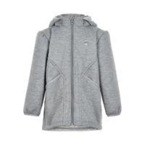 Minymo Softshell jacket -Girls JUNIOR Grey Melange 104 - Minymo