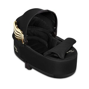 Cybex Priam Lux Carry Cot Fashion JS Wings Black - Cybex