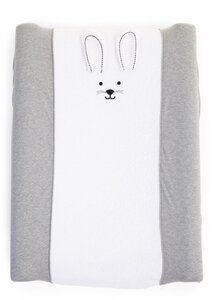 Childhome Changing Cushion Cover Rabbit Jersey Grey - Elodie Details
