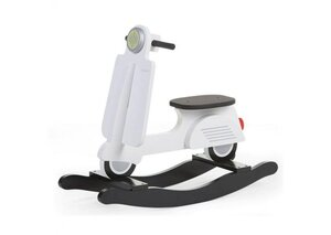 Childhome Rocking Scooter Black&White - Childhome