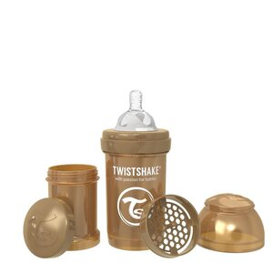 Twistshake Anti-Colic pudelīte 180ml Pearl Copper - Twistshake