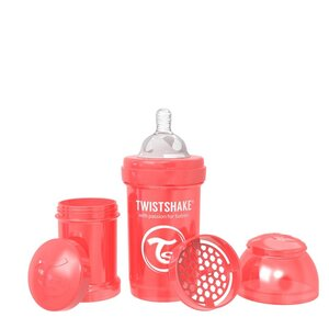 Twistshake Anti-Colic 180ml Pearl Red Pearl Red 180ml - Twistshake