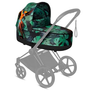 Cybex Priam Lux Carry Cot FE Birds of Paradise - Cybex