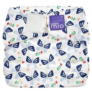 BambinoMio Miosolo All-In-One Reusable Nappy, Butterfly Bloom - BambinoMio