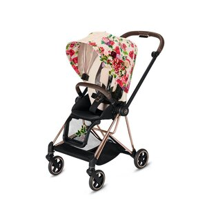 Cybex Mios Stroller Set Spring Blossom Light with Rose Gold Frame - Cybex