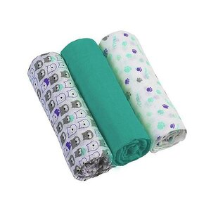 BabyOno Muslin diapers super soft 3 pcs Green - BabyOno
