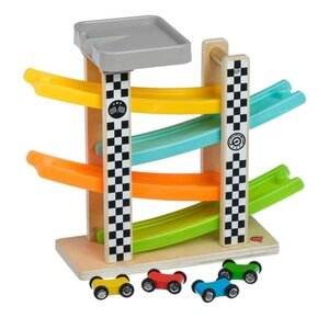 Lucy & Leo Wooden toy Fast slide Wooden toys Multicolor - Lucy & Leo
