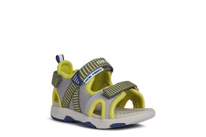 Geox sandaalid B Multy Boy  Grey/Lime Green - Geox