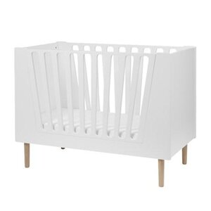 Done by Deer Baby cot, 70x140 cm, white - Done by Deer