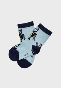 NAME IT Socks NMMBJARNE 22/24 Sterling Blue - NAME IT