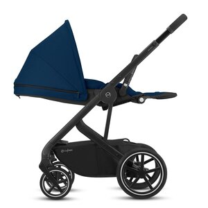 Cybex Balios S Lux buggie Magnolia Pink black frame - Cybex