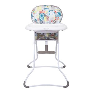 Graco hightchair Snack n' stow  Patchwork Grey  - Graco