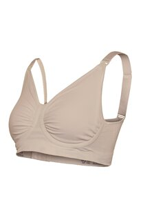 Carriwell Nursing Bra with Carri -Gel, M Honey - Carriwell
