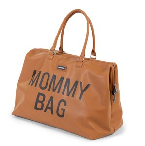 Childhome mommy bag big leatherlook Brown - Childhome