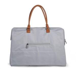 Childhome mommy bag big Grey/Offwhite - Childhome