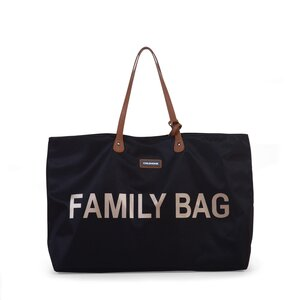 Childhome family bag Black/Gold - Childhome