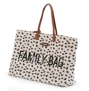 Childhome family bag canvas Leopard - Childhome