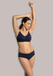 Carriwell Original Nursing Bra Blue-Pink, S - Carriwell