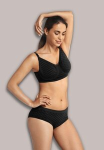Carriwell Nursing Bra with Carri-Gel BlackCheck, S - Carriwell