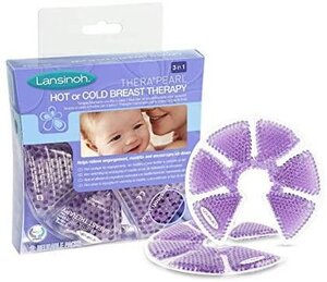 Lansinoh Thera°Pearl 3-in-1 Hot or Cold Breast Therapy Violet - Lansinoh