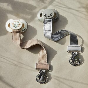Elodie Details soother clip Stone - Elodie Details