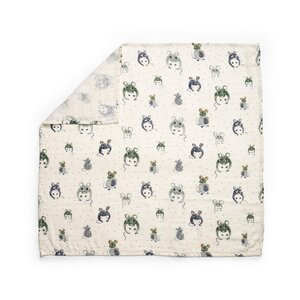 Elodie Details bamboo muslin blanket Forest Mouse - Elodie Details