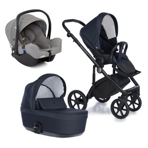Nordbaby Nord Active Plus Stroller Set Orion Blue, Onyx - Nordbaby