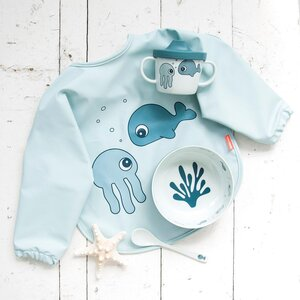 Done by Deer sleeved bib 6-18m Sea friends - Done by Deer