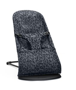 BabyBjörn BB Bouncer Bliss, Antracite/Leopard, Mesh - BabyBjörn
