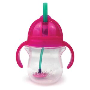 Munchkin Click Lock Tip & Sip Straw Cup 207ml - Done by Deer