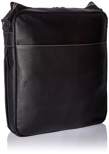 Storksak Jamie leather bag black - Storksak